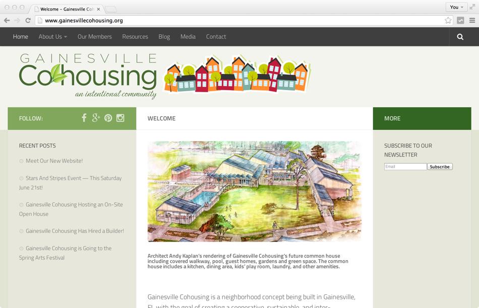 GainesvilleCohousing.org Project
