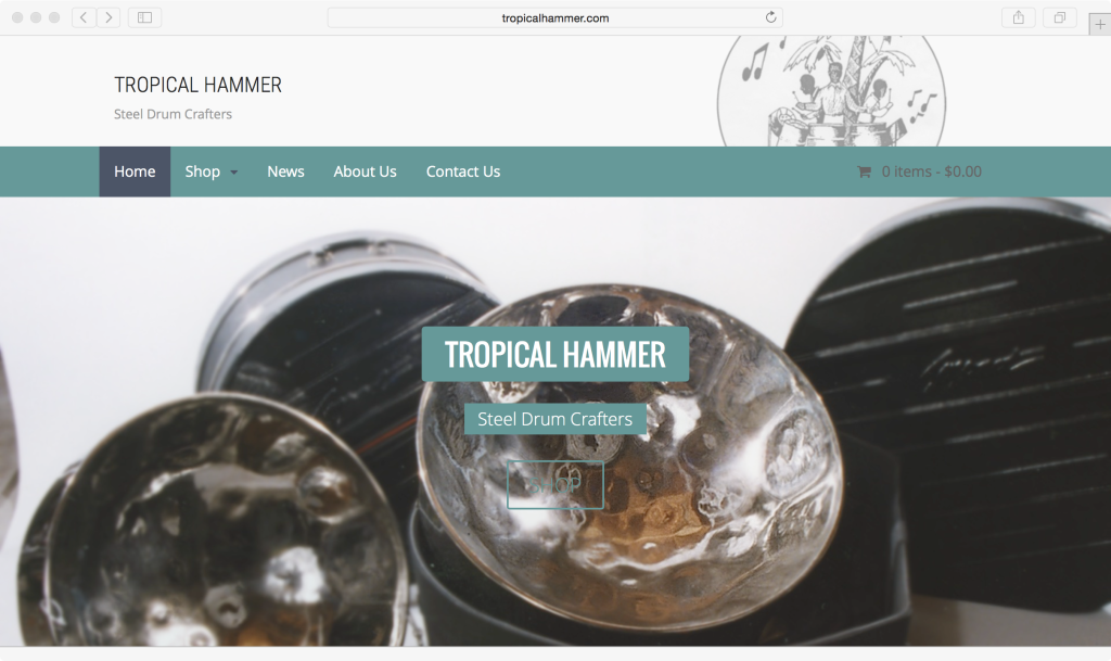 Tropical Hammer Steel Drum Crafters