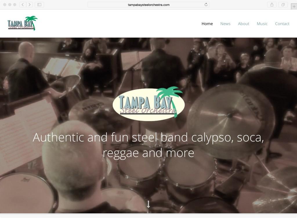 Tampa Bay Steel Orchestra webiste